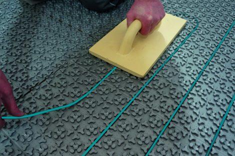Elektro-Fußbodenheizung auch für Designböden