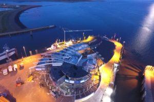 Hafenterminal Norderney