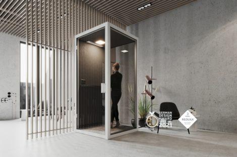 German Design Award 2021 - GK CUBE gewinnt!