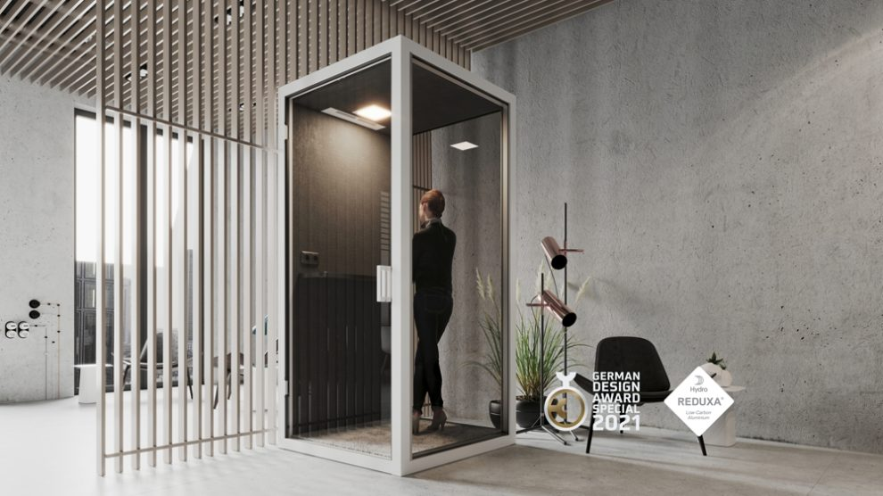 Raum-in-Raum-System GK Cube German Design Award 2021