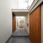 Eingang Einfamilienhaus Osaka