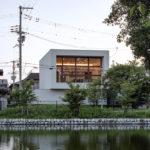 Außenansicht Einfamilienhaus Osaka