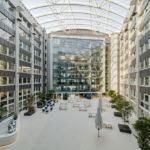 Große Halle helaba Campus von BGF+ Architekten in Offenbach