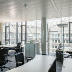 Arbeitsplätze helaba Campus von BGF+ Architekten in Offenbach
