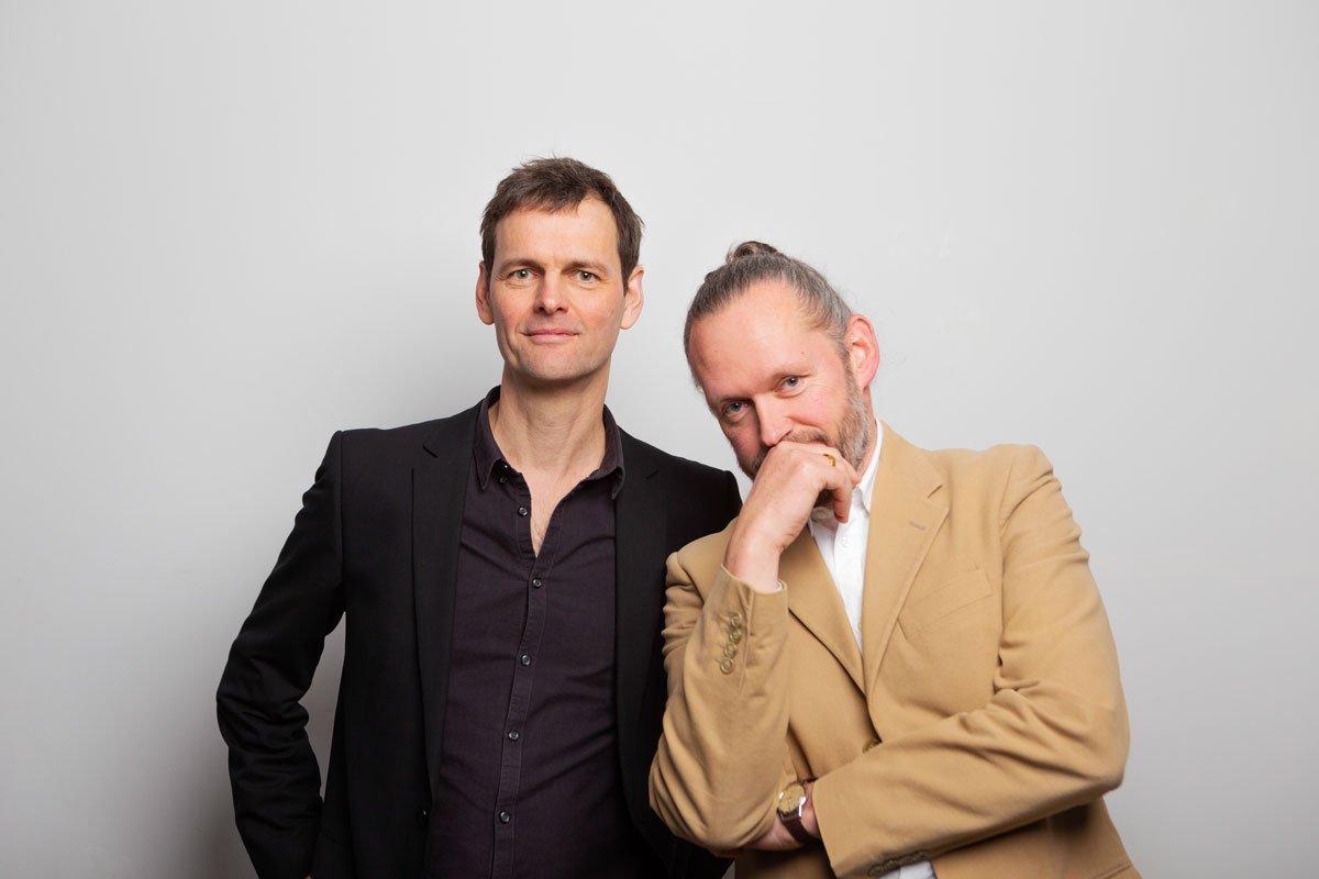 Geschäftsführer Xaver Egger (rechts) und Hendrik Rieger (links)