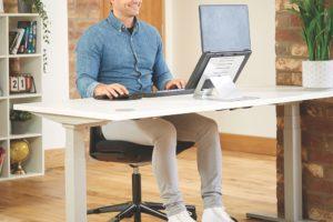 Ergonomisches Arbeiten mit Hylyft Laptop Ständer