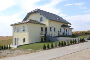 Einfamilienhaus Alleshausen Aufdachdämmung
