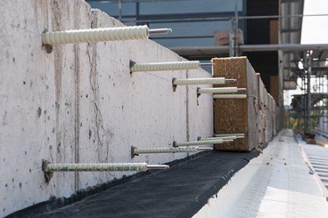 Schöck Isolink für vorgehängte hinterlüftete Fassaden
