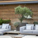 Außenbereich mit Holzbelag Kebony