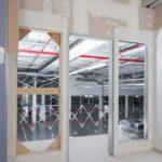 Einbau Fertigfenster Knauf Büroräume