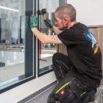 Abdeckrahmen einbauen Fertigfenster