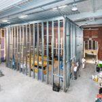 Akustiktesträume mit Knauf Cocoon Stahlleichtprofilen