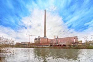 Leichtbauwand Stadtwerke Saarbrücken