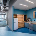 Unterstützung der Tragstruktur Büroraumteilung