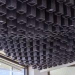 Decke mit 3D-Effekt