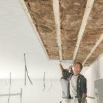 Akustikplatten für Holzunterkonstruktion