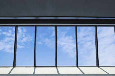 Glasdach verhindert Brandausbreitung