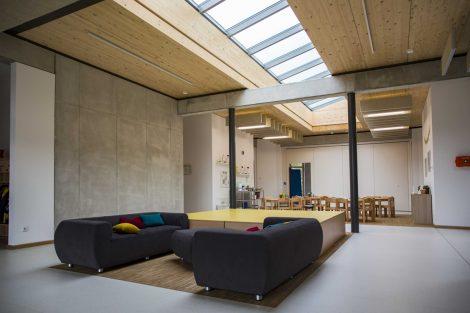 Glasdachkonstruktion: Tageslicht macht aus Draußen ein Drinnen