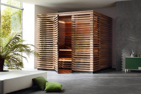 Sauna und Dampfbad für Klafs