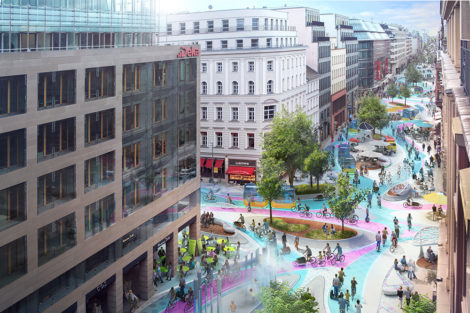 New Mobility-Studie Friedrichstraße