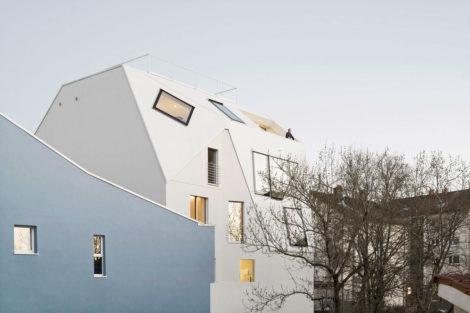 Aufstockung und energetische Sanierung Wohn- und Geschäftshaus