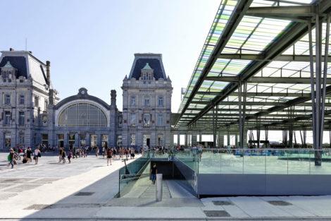 Der Bahnhof von Oostende – Eine Station am Meer