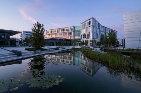 Offen, positiv und kommunikativ - Das Bürokonzept des Sartorius Campus