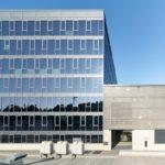 Sonnenschutzglas, Festglaselementen Bürogebäude Otto Fuchs