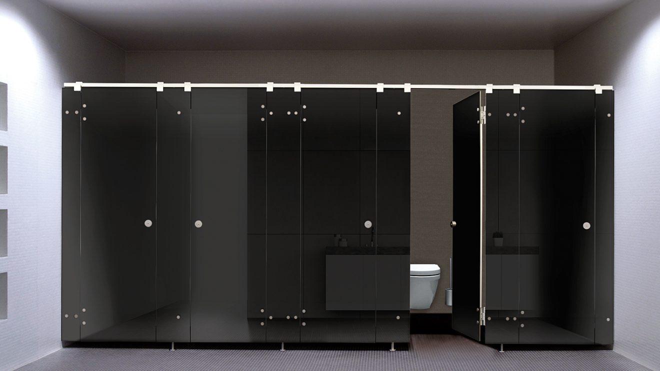 WC-Trennwand NOXX smart