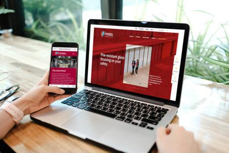 Pyrobel-Feuerschutzverglasungen: Neue Website