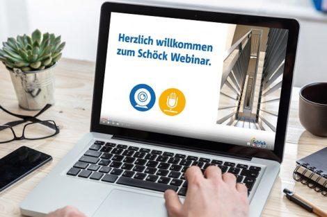 Digitale Weiterbildungsangebote von Schöck