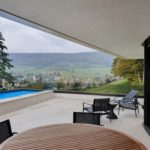 Pool, Terrassenhaus Quasar Erlinsbach