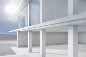 Wärmebrücke schließen mit Schöck Sconnex: Fassadenzeichnung