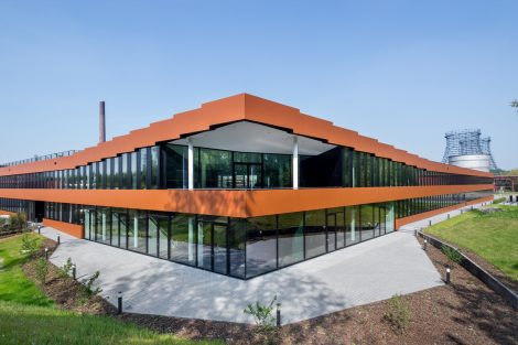 RAG-Neubau auf Zeche Zollverein