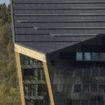Powerhouse Telemark Dach und Fassade