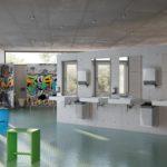Sanitärräume Schule HEWI