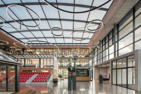 Architektur im Foyer