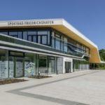 Haupteingang Sportbad Friedrichshafen