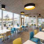 Bodenfliesen Restaurant, Sportbad Friedrichshafen