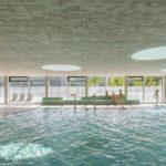 Wärmebänke, Sportbad Friedrichshafen