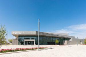 Haupteingang Stadthalle Rheda von pbr