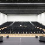 Veranstaltungssaal der Stadthalle Rheda von pbr