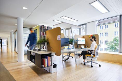 Zurück im Büro – Wie die Pandemie unser Denken über Arbeiten verändert.