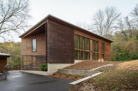 Wood Screen House
