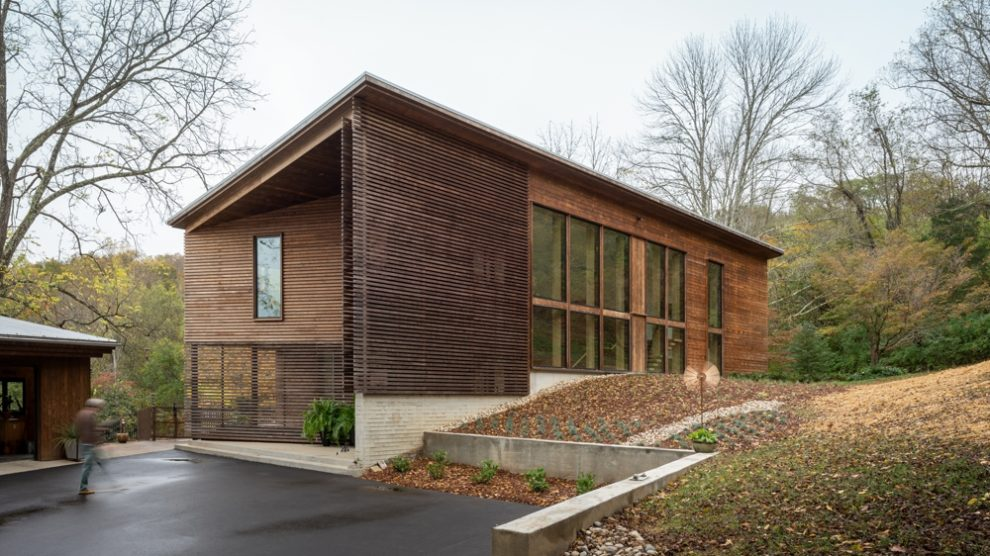 Kebony Fassadenbekleidung Wood Screen House