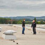 Dachkonstruktionen Lichtband Lichtkuppeln