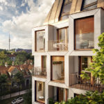 Wohnbauprojekt Van B in München von UNStudio und Bauwerk