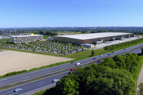 Neue Firmenzentrale für Woolworth