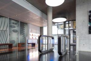 Barrierefreiheit Eingangshalle Glaxy Gate