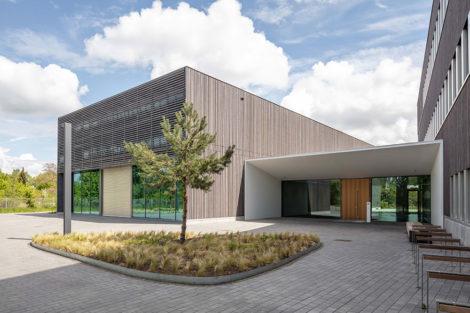 Neues Forschungsgebäude ZELUBA